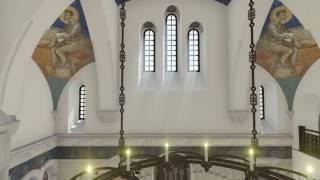 ХРАМ СВ.ВЕЛИКОМУЧЕНИКА И ЦЕЛИТЕЛЯ ПАНТЕЛЕИМОНА. Интерьер