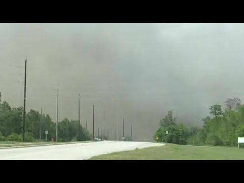 Hundreds of acres burn in Deltona