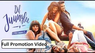 Dil Juunglee Full Comedy Bollywood Promotion Video || Taapsee Pannu, Saqib Saleem