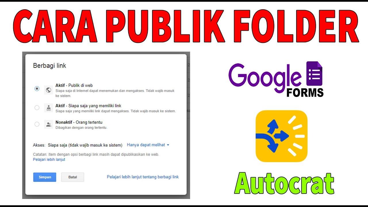 Setting Formulir Tanpa Harus Login Google Dan Cara Tutup Pendaftaran Youtube