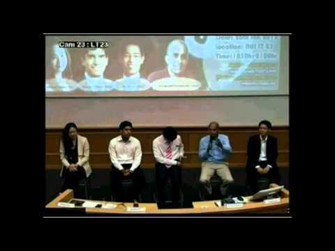 The Young Guns Forum Q&A - MG Chan Chun Sing