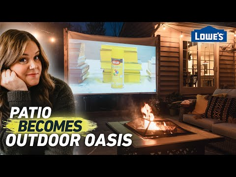 transform-your-patio-into-an-outdoor-oasis-and-movie-theater- -home-becomes-(ep6)