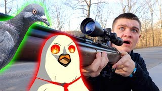 Pigeon Hunting GONE WRONG!