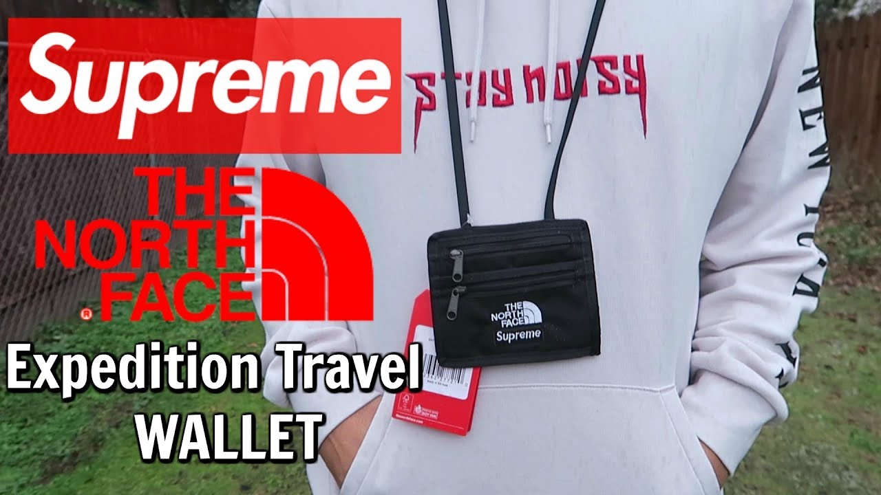 5a247bdc8 Supreme x The North Face Travel Wallet worth $30 Retail? | REVIEW