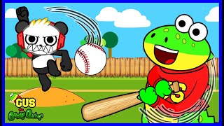 Learn Sports like Baseball and Swimming with Gus the Gummy Gator!