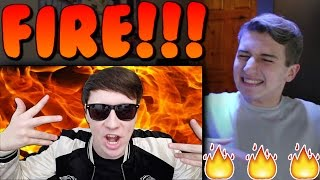 Dan's Diss Track Reaction | danisnotonfire ROAST YOURSELF CHALLENGE Reaction
