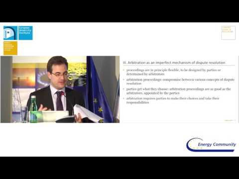4th Vienna Forum on European Energy Law | Session 4: Energy Dispute Resolution