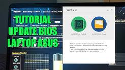 Tutorial Update BIOS Laptop Asus dengan Winflash
