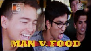 WE WERE ON MAN V FOOD