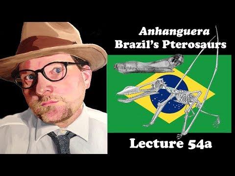 Lecture 54a Anahanguera Brazil's Pterosaurs