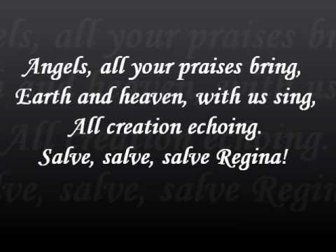 Salve Regina lyrics