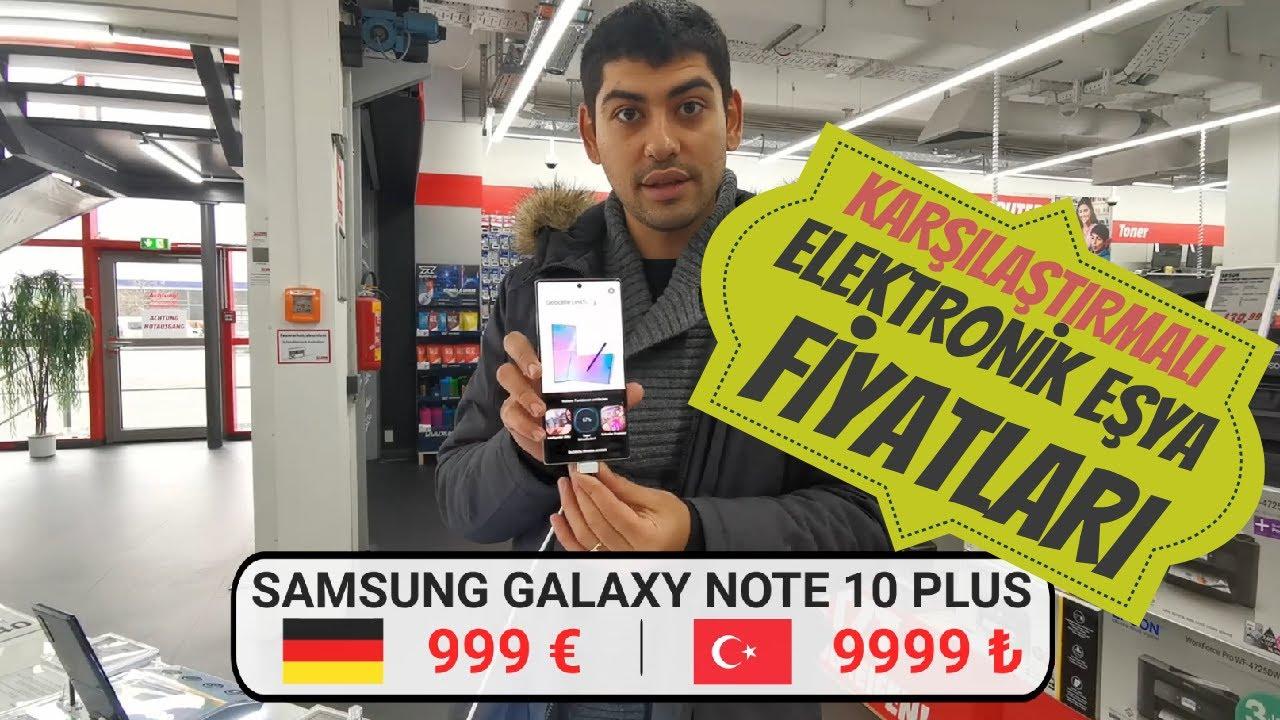 Almanya'da Elektronik Fiyatları | Türkiye ile Alım Gücü Karşılaştırması | 2020