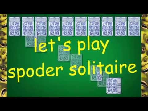 Let's Play: Spider Solitaire - Episode 1 - Finale