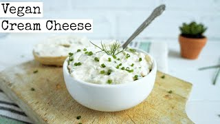 Vegan Cream Cheese | Chive and Onion | How To