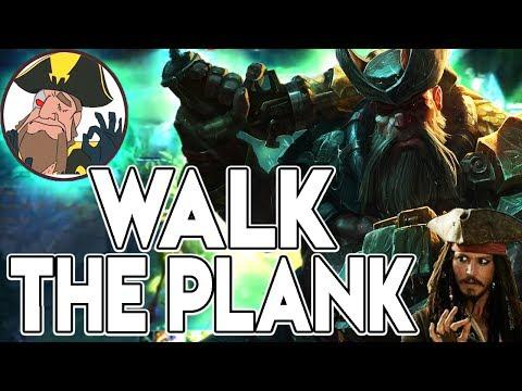 Tobias Fate - WALK THE PLANK! TOBIAS THEGODPLANK! | League of Legends