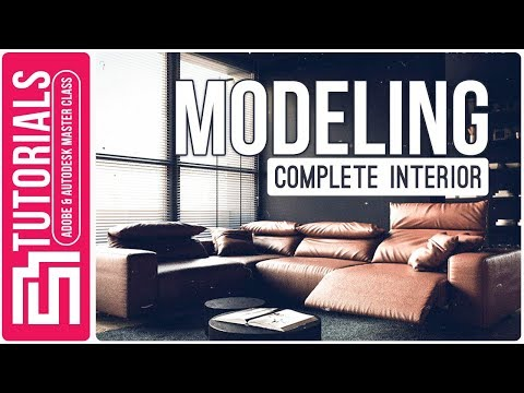 INTERIOR MODELING 3ds + VRAY + Photoshop