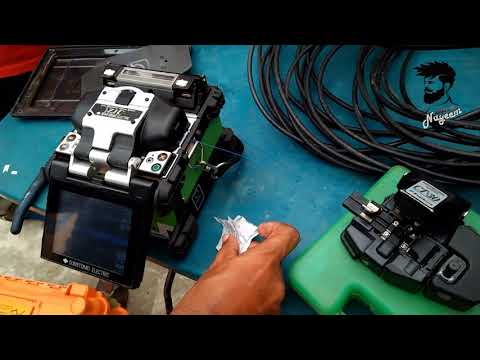"☆☆ Field Work ☆☆ ""How To splicing broken optical fiber cable part-2"" !!Practically!!"