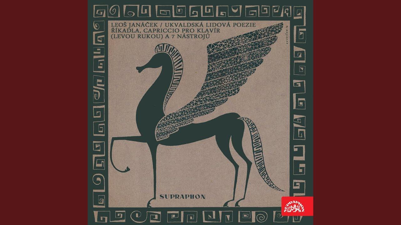 Folk Poetry of Hukvaldy in Songs - God Reward You