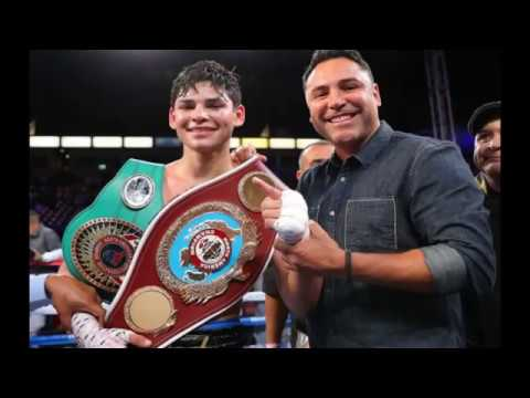 Ryan Garcia a New rising star in the world of boxing Highlights Interes Thing