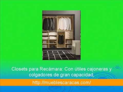 Closets modernos en caracas youtube for Working closet modernos