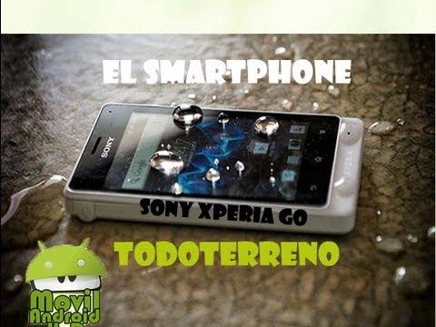 Completo analisis del smartphone todoterreno mas economico [Sony Xperia Go]