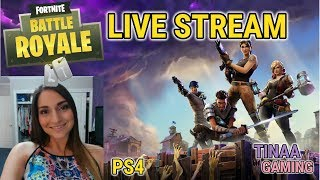 FORTNITE * CAN WE GET A WIN??? *-ROAD TO 7K!!!!   Tin Gaming   Live Stream