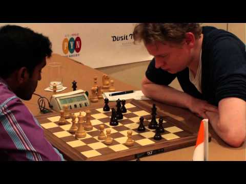 Thailand Open Chess Championships 2013, Rd 3 IM Thejkumar M.S. - Jan Gustafsson