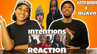Justin Bieber Ft Quavo - Intentions (Official Music Video) (Reaction)