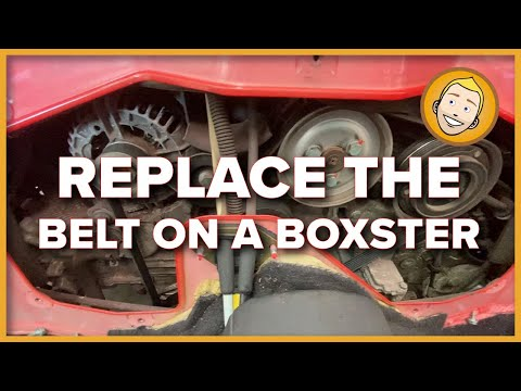 How to REPLACE THE BELT on a Porsche Boxster 986 | (Project 5)