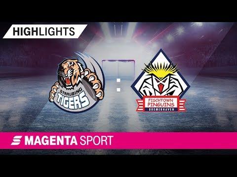 Straubing Tigers - Pinguins Bremerhaven | 3. Spieltag, 19/20 | MAGENTA SPORT