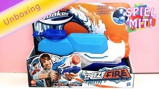 Nerf Supersoaker Freezefire - Nerf Deutsch Freeze fire Unboxing