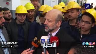 رئيس الوزراء يطلع على مشاغل مدرسة الشريف عبد الحميد شرف المهنية (21-4-2019)