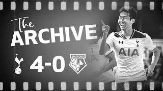 THE ARCHIVE | Spurs 4-0 Watford | Heung-Min Son double at White Hart Lane