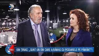 """Stirile Kanal D - Casa lui Ion Tiriac este in avion! """"Casa de vedeta"""""""