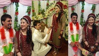 Pakistani Squash Player Farhar zaman Married to Sadia Gull