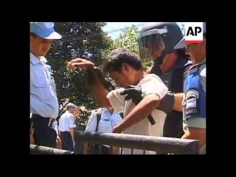 EAST TIMOR: DILI: RIVAL GANG VIOLENCE