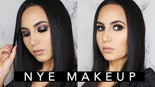 NEW YEARS EVE Metallic Smoky Eye + Outfit   Elle Levi