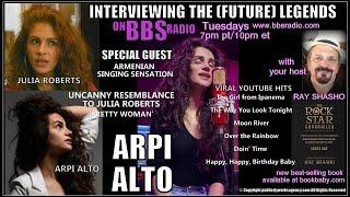 Arpi Alto: Julia Roberts Clone & Viral Singing Sensation