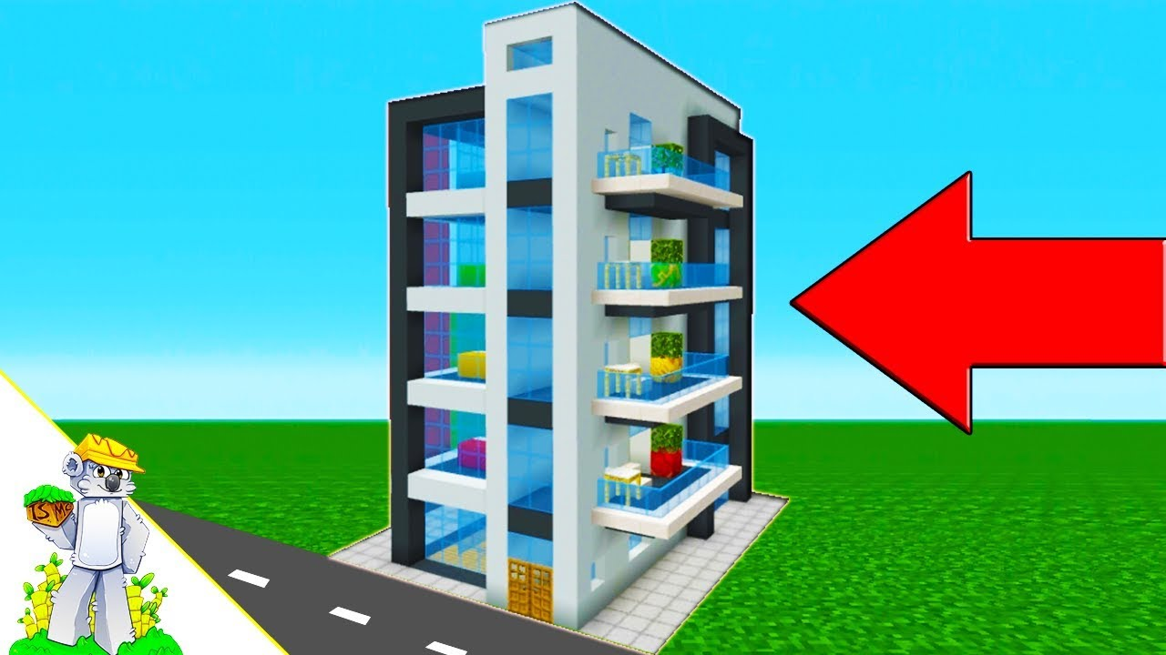 Minecraft Tutorial: How To Make A Modern Apartment ...