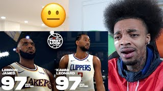 REACTING TO NBA 2K20 Top 20 Players Ratings! (MOST BIASED I EVER SEEN!)