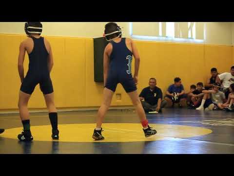 Eden's Second Wrestling Match Terronez VS BAIRD Middle school