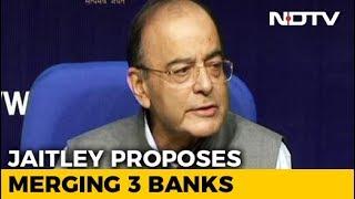 Dena, Vijaya, Bank Of Baroda To Merge To Form India's 3rd Largest Bank thumbnail
