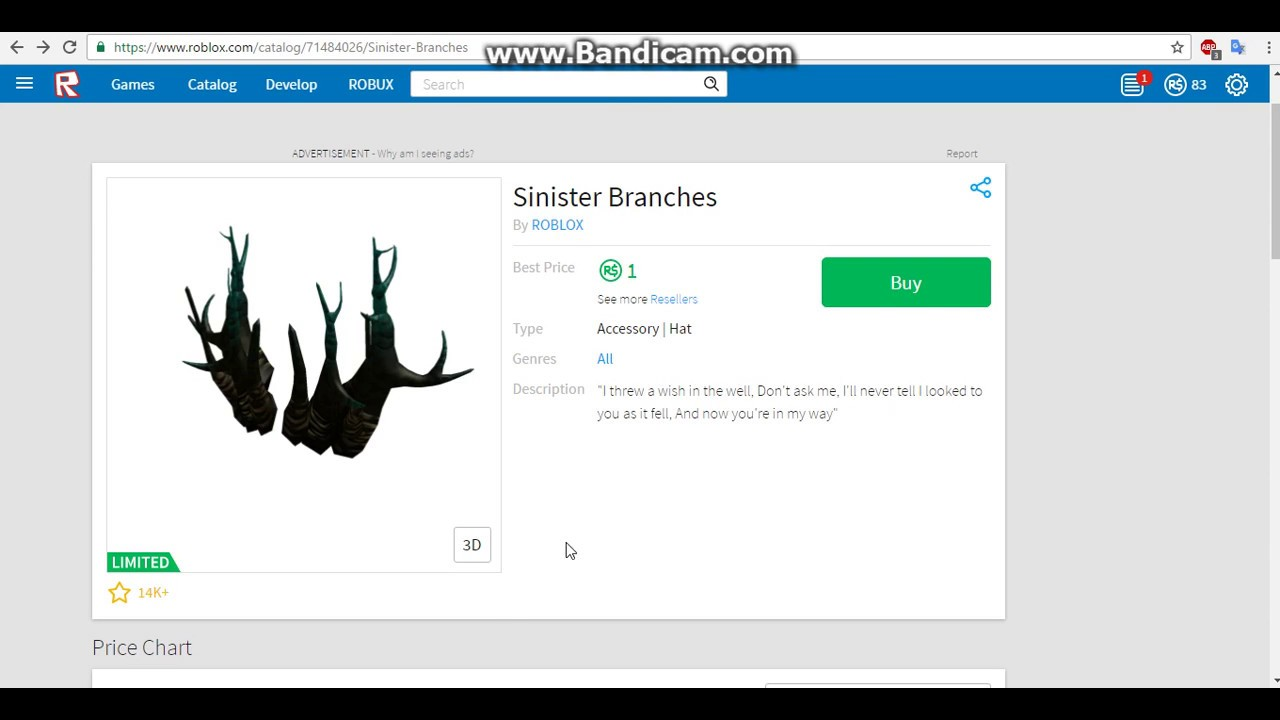 1 ROBUX SINISTER BRANCHES?!?! - YouTube