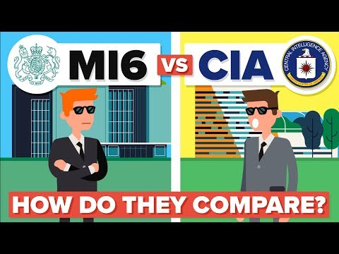 British MI6 vs US CIA - What's the Difference and How Do The