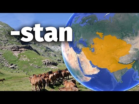 Stan by your land : the -stan countries in Asia and beyond
