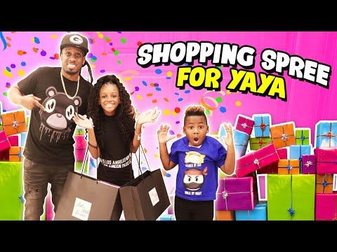 Taking Yaya On A Shopping Spree For Her Birthday