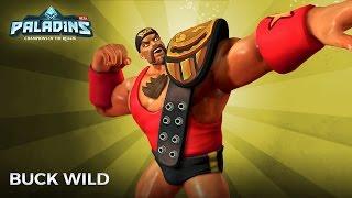 Paladins OB50 PTS - New Buck skin gameplay