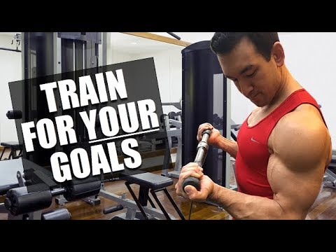 Train For YOUR Fitness Goals, Not Someone Else's