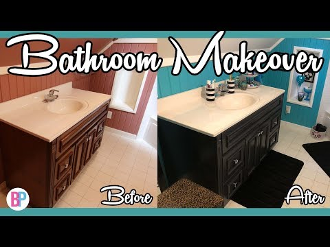 Bathroom Makeover | How to Decorate a Small Bathroom