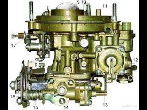 Карбюратор К151 для ГАЗели, 406 двигатель, ч1.